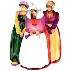 казка Три прялі