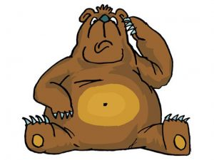 Чому ведмідь клишоногий